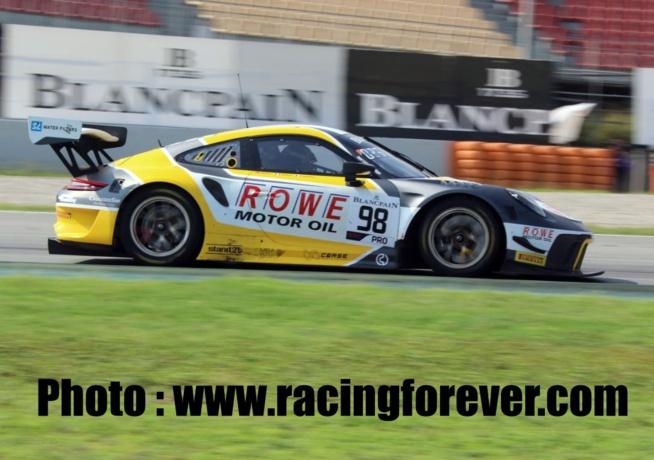 La pole avait été obtenue de haute lutte par la Porsche #98 de