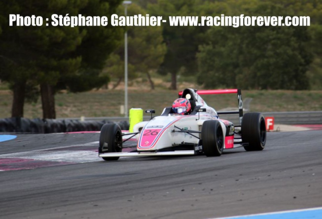 Double pole pour Hadrien David