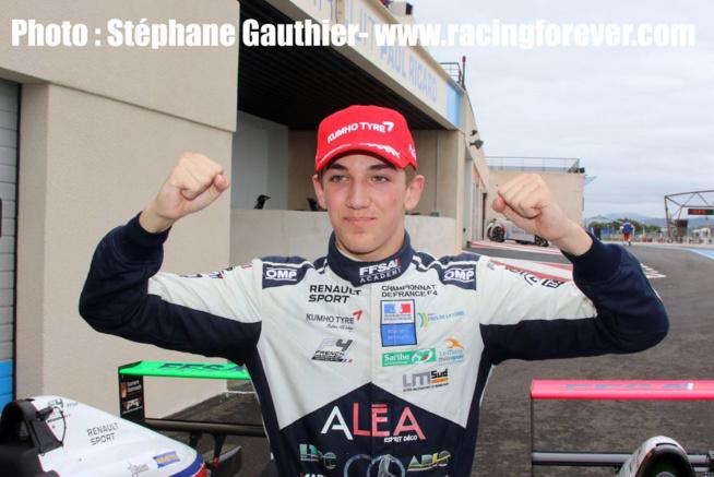 Hadrien David champion de France FFSA F4