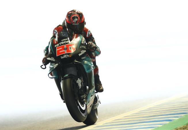 Fabio encore une fois flamboyant et meilleur rookie (photo Yamaha)