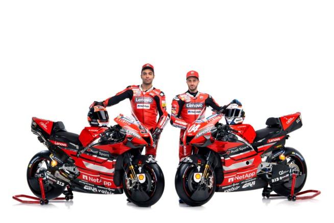 Les rouges sont d'attaques ! (Photo Ducati)