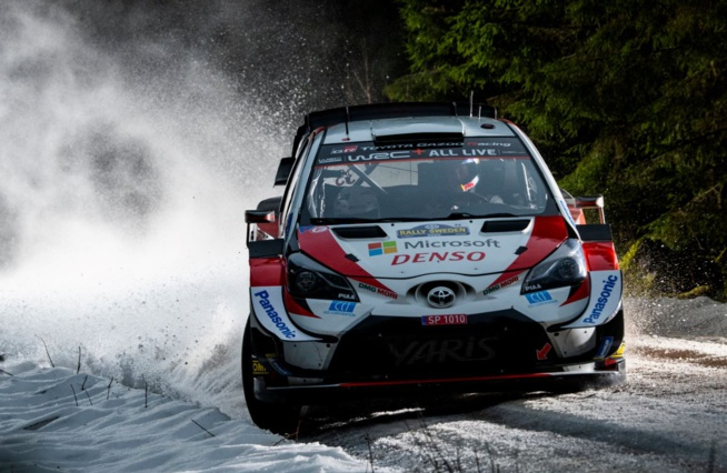 Associé à Martins, Elfyn Evans a dominé le rallye (Photo Jaanus Ree/Red Bull Content Pool)