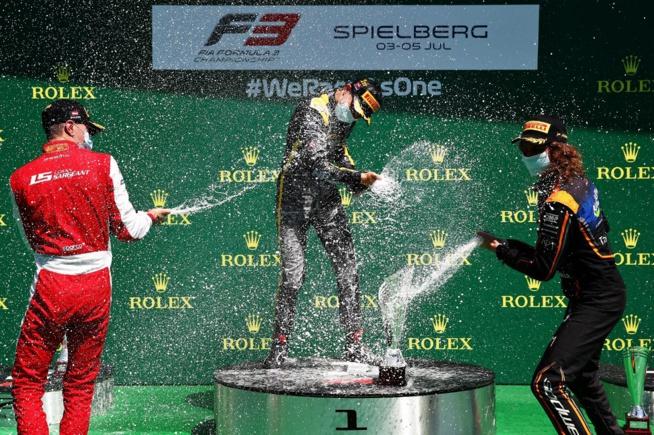 Premiers champagnes pour pilotes de talents