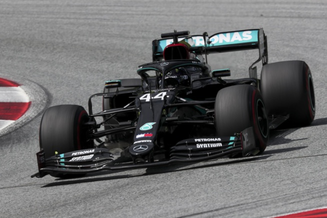 Week-end solide pour Hamilton et Mercedes © Mercedes F1