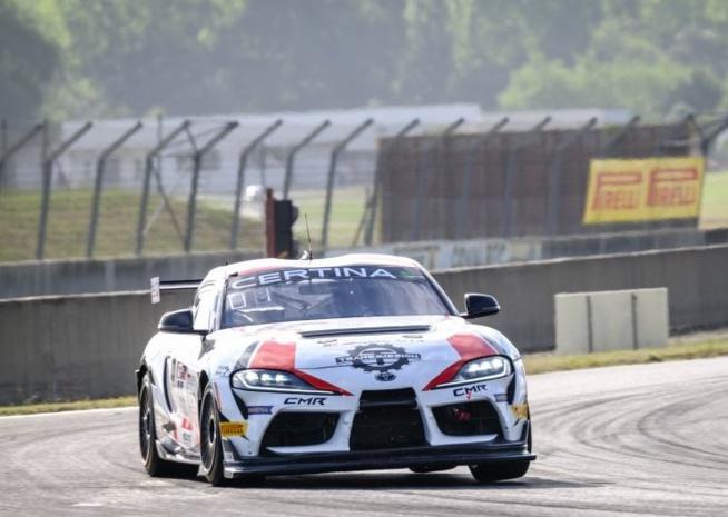 Un premier succès pour Toyota en AM (Photo D.Bogaerts - SRO)