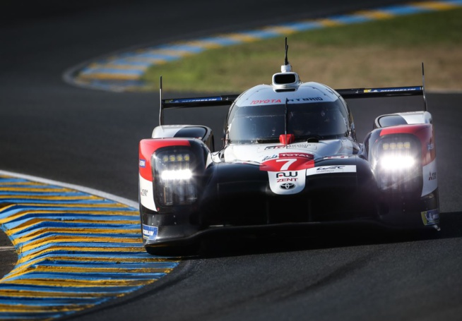 Toyota partira bien en pole position (Photo Toyota Gazoo racing)