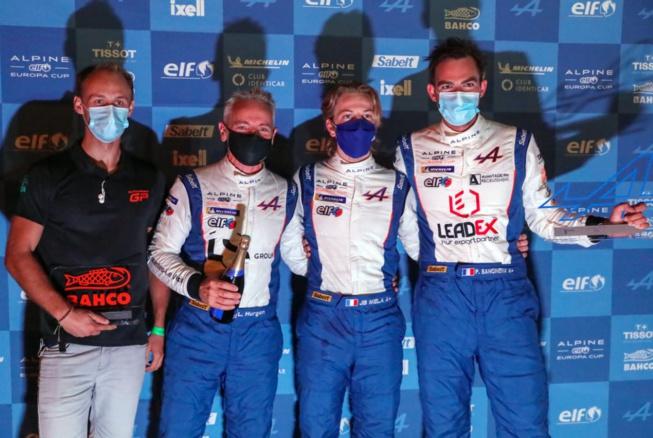 Autosport GP sur le podium (Photo DPPI)