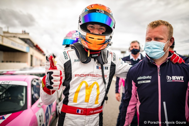 Jean-Baptiste Simmenauer, leader de la Porsche France (Photo A.Goure - Porsche)