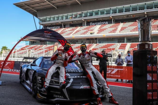 Vanthoor et Weerts et Audi WRT au top à Barcelone (Photo SRO)