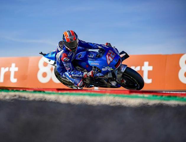 Alex Rins, le 8e vainqueur différent en 2020 (Photo Suzuki Racing)