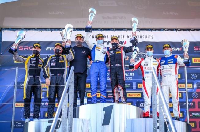 Le podium final (Photo D.Bogaerts)
