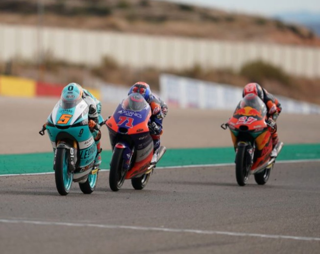 Victoire au finish pour Masia (Photo Honda pro Racing)