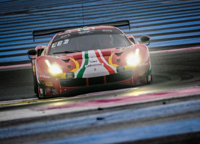 Ferrari aux anges pour la finale (Photo SRO)