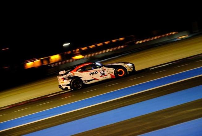 Bonne opération pour Gazeau et Cazalbon et Toyota (Photo D.Bogaerts/SRO)