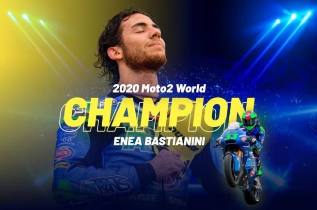Moto2 : Bastianini champion à Portimao