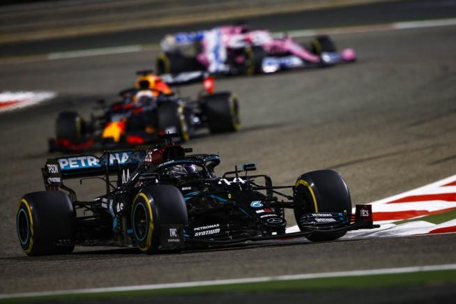 Hamilton vainqueur d'une course effrayante - © AMG Mercedes