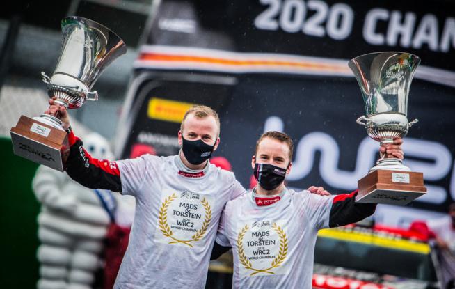 Mads Ostberg et Torstein Eriksen (Photo Citroën Racing)