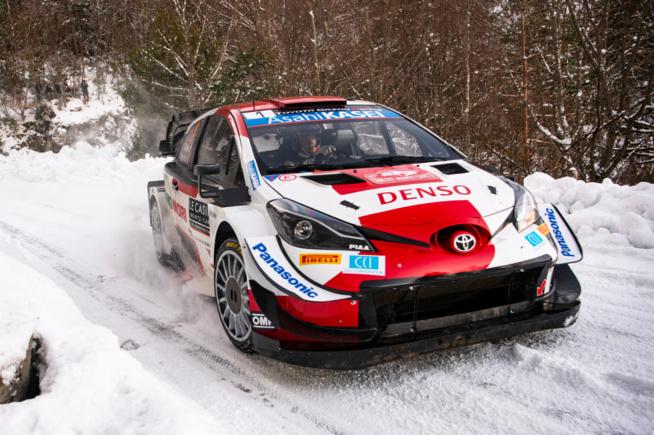 Sébastien Ogier en conditions neige (Photo Jaanus Ree/Red Bull Content Pool)