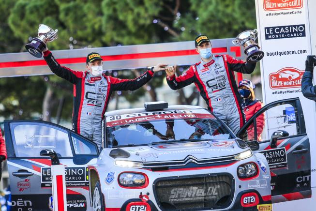 Rossel et Fulcrand  s'imposent en WRC3 avec Citroën ( Photo Citroen Racing)