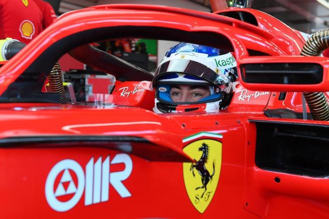 30 ans après son père, Guliano Alesi au volant d'une Ferrari F1
