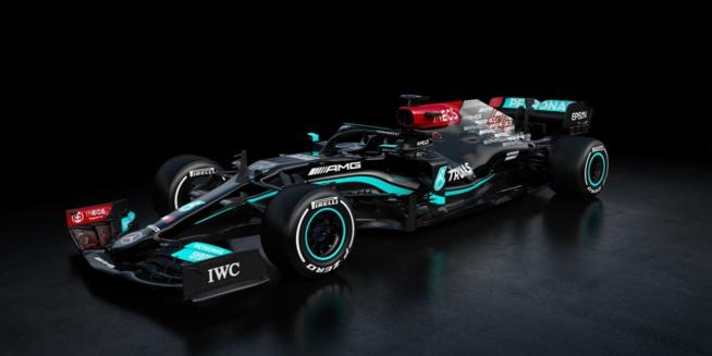 La F1 W12 de Mercedes