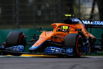 Norris a dominé Ricciardo à Imola © McLaren