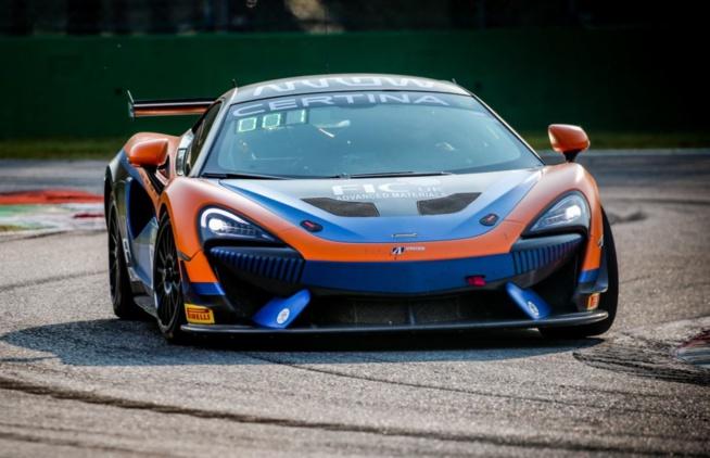 La McLaren d'United Autosports imbattable à Monza (Photo SRO)