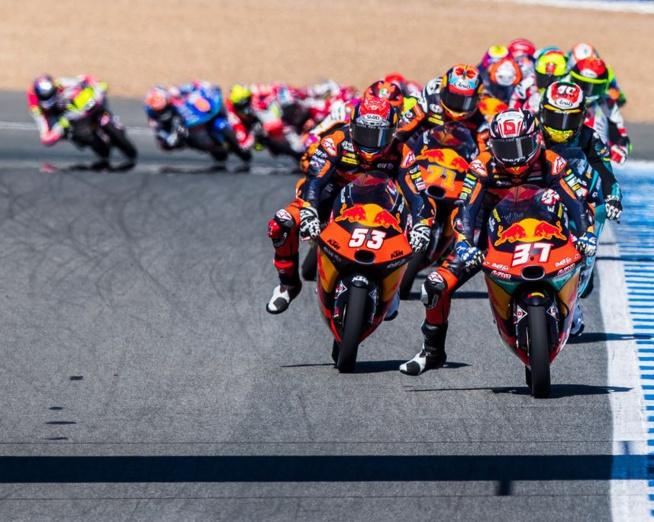 Ce fut encore épique en Moto3 (Rob Gray - Polarity Photo)