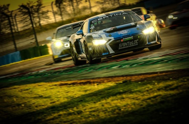 L'Audi de Guilvert et Michal n'est jamais loin du succès (Photo D.Bogaerts Sro)