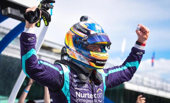 Première pôle position pour Grosjean en Indycar © James Black - Indycar