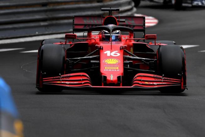 Charles Leclerc entre joie et peur © Ferrari s.P.A