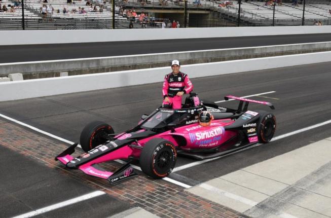 Castroneves quadruple vainqueur à Indy (Photo : Chris Owens - Indycar)