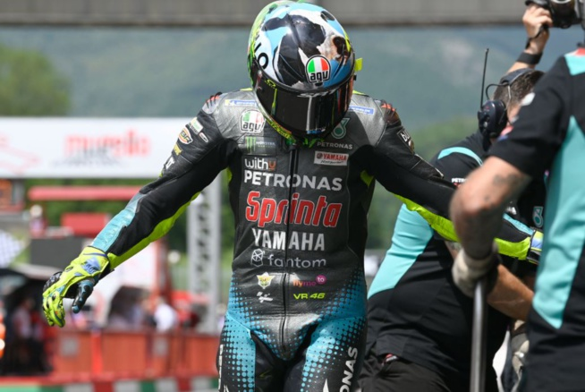 Un résultat vachement bien pour Valentino Rossi (Photo Petronas SRT)