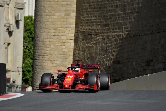 Leclerc en pôle position © Ferrari s.P.A