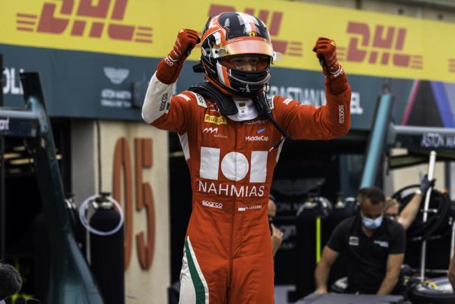 Un autre Leclerc victorieux © Prema