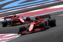 Course cauchemardesque pour la Scuderia © Ferrari s.P.A