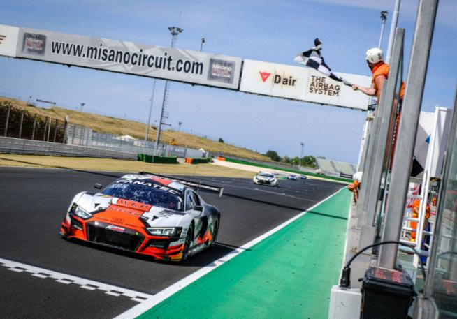 Double succès pour Audi à Misano