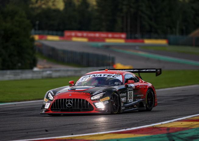 Superpole pour Mercedes