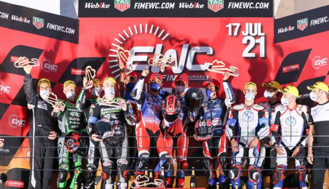 Le podium d'Estoril