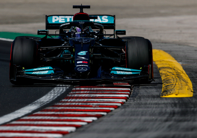 Hamilton en tête du championnat du monde (Photo Lat)