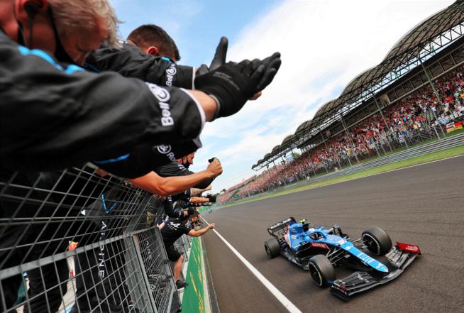 Premier succès pour Ocon et Alpine en F1