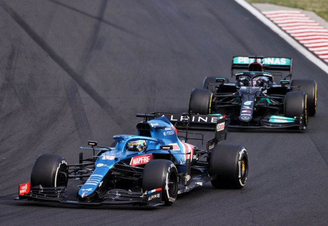La belle résistance d'Alonso sur Hamilton a servi les intérêts d'Ocon