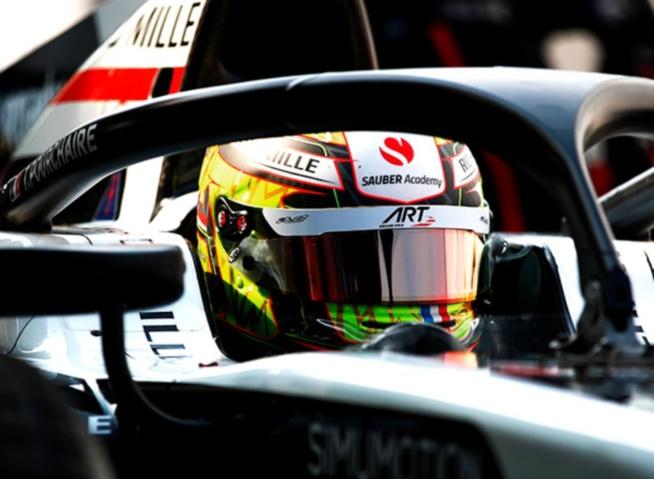 Théo Pourchaire très rapide à Monza © FIA F2