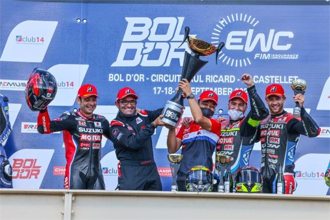 Endurance Moto : Bol d'Or 2021 pour Suzuki