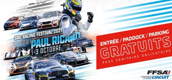 FFSA GT : Les horaires du Paul Ricard
