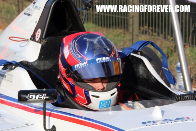 Esteban Masson, leader fragile en F4 FFSA