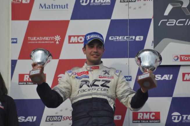 Déja sur le podium en Peugeot RCZ