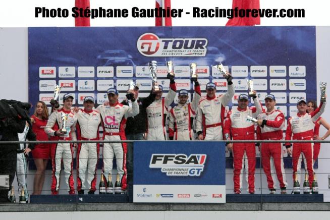"Un podium FFSA GT très ""Ferrarissimo"""