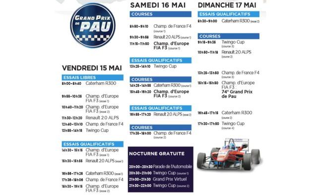 Grand prix de Pau : 2 week-end de fêtes en approche