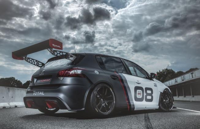 La nouvelle bête de course de chez Peugeot